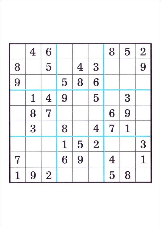 10 atividades de Sudoku para imprimir 7 - 7