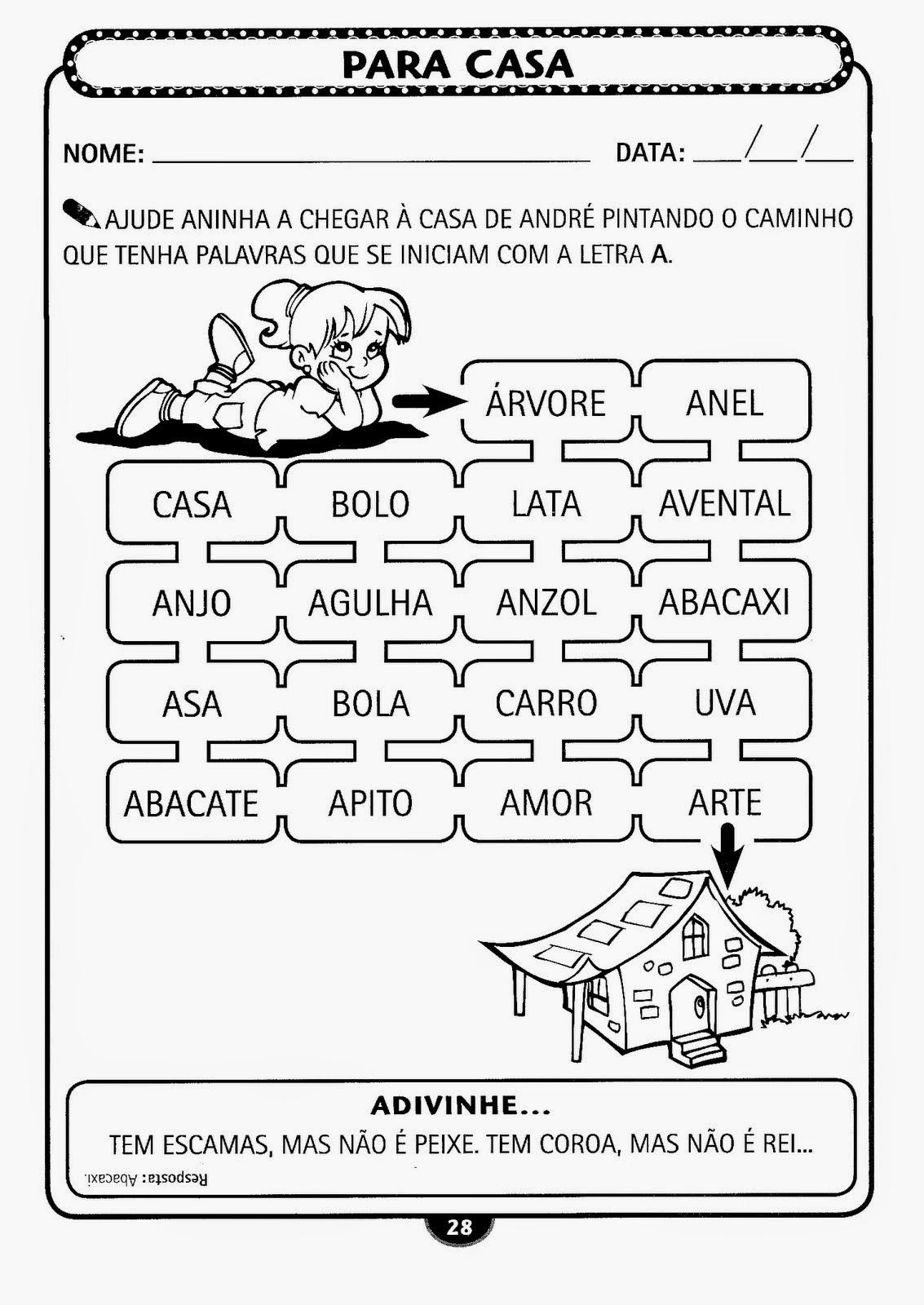 Educação Infantil Atividade-21
