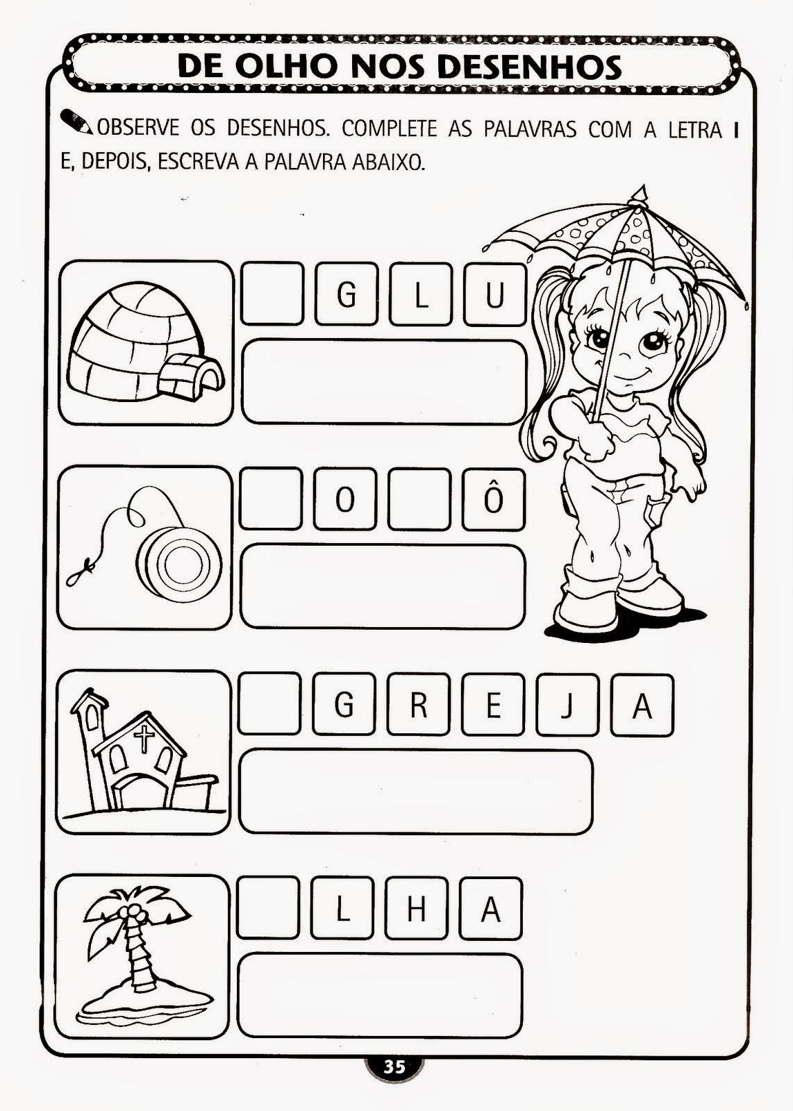 Educação Infantil Atividade-28