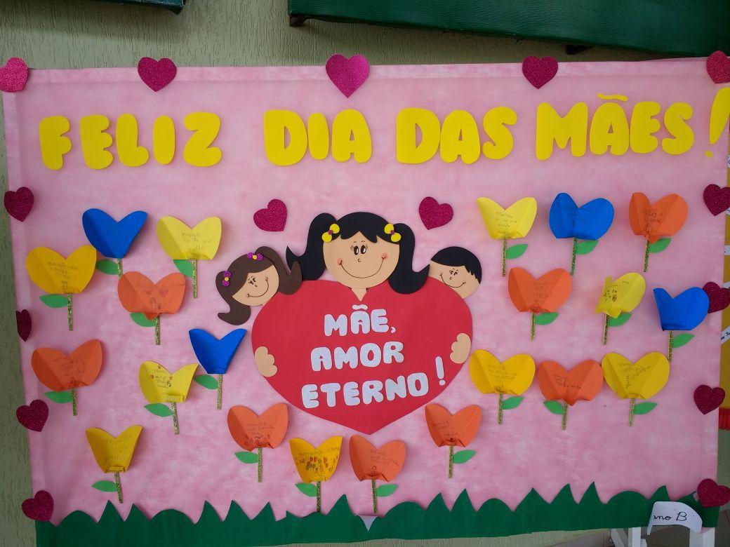 Mural Dia das Mães Painel decoração 73