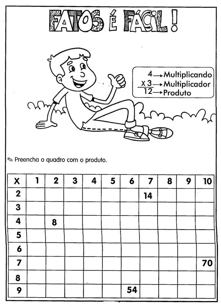 Muito 37 Atividades Educativas de Multiplicação - junho/2018 KG18