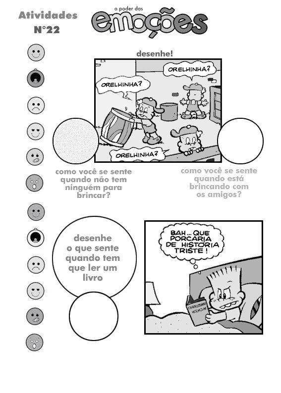 atividades-educativas-o-poder-das-emoções-100 100 atividades Educativas para imprimir sobre emoções